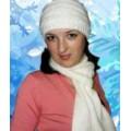 Женские шапки, белые