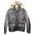 куртка мужская ,Аляска, с натуральным мехом